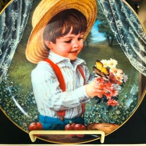 """""""For Mom""""Collector's Plate by Sandra Kuck"""